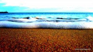 Meditación de las olas