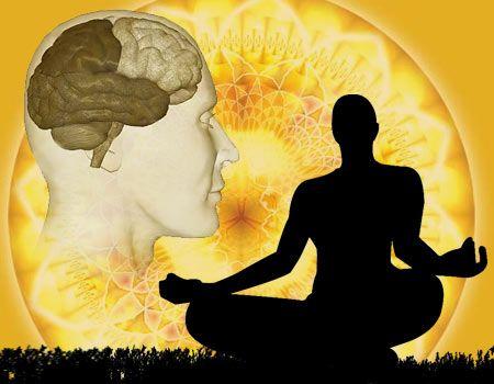 Tu cerebro durante el yoga.