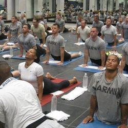 El Yoga se ha introducido también en los programas de entrenamiento militar de las fuerzas especiales de EEUU.