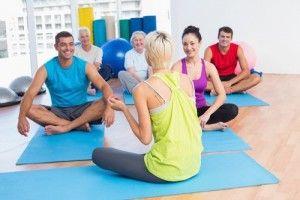 Las clases de Yoga no son terapias de grupo.