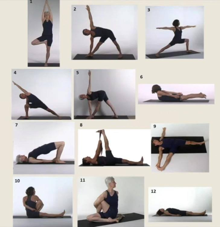Secuencia de yoga contra la osteoporosis - Dr. L. Fishman