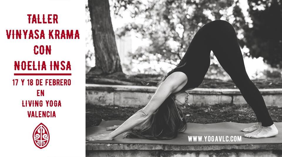 Taller Vinyasa Krama Yoga Valencia